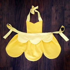 Beauty and the Beast Belle Apron/Costume by LittleEllesBowtique