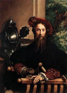 Parmigianino: Il Ritratto di Gian Galeazzo Sanvitale, 1526. Napoli, Museo di Capodimonte.