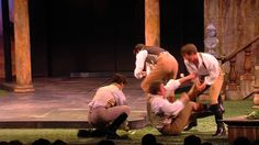 "Promotional video of the play ""Love's Labour's Lost"" at the Utah Shakespeare Festival, 2013 - set in the regency era"