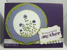 Mothers Day card with Herb Expressions