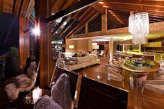 Chalet Zermatt Peak – Perfectness of Six-Star Boutique Chalet in Switzerland: The Dining Room In Charlet Zermatt Peak Luxury Boutique