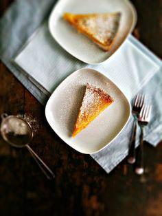 Meyer Lemon Honey Tart with Salted Shortbread Crust