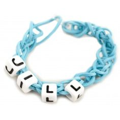 Personalized Stretch Band Bracelets