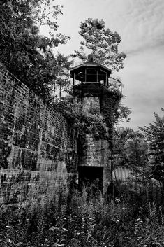 Yard Tower - Photo of the Abandoned Roseville State Prison