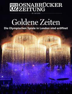 Die Olympischen Sommerspiele in London sind eröffnet - unser Titelthema der iPad-Ausgabe vom 28. Juli 2012.