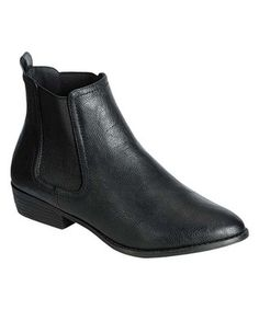 Black Charm Ankle Boot