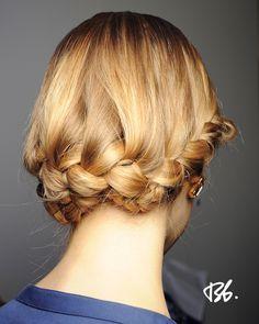 Spring/Summer Fashion Week. Hair by Bb. Stylist Romina Manenti. #fashionweek #fashion #hair #bumble #braids #style