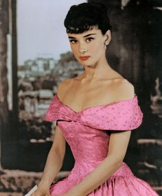 The graceful Audrey Hepburn