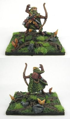 Wood Elf painting inspiration