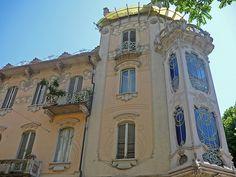 Liberty - villa Fenoglio- Lafleur - Torino by arny_bol, via Flickr