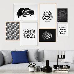 Give your walls new life! Our modern art prints frames allow you to create a uni.Give your walls new life! Our modern art prints frames allow you to create a uni.Home Wall Ideas Home Decor Quotes, Home Decor Pictures, Wall Art Quotes, White Wall Art, Diy Wall Art, Wall Decor, Bedroom Decor, Islamic Decor, Islamic Wall Art
