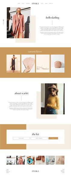 Web-Design design inspiration minimalist Buying Bespoke Mens Shirts - The Benefits And What To Website Design Inspiration, Simple Website Design, Modern Website, Website Design Layout, Blog Layout, Web Layout, Layout Design, Layout Inspiration, Personal Website Design