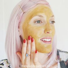Amp up your favorite mask with this magic potion from your fridge and say ADIOS ACNE! Click twice on this pic to be re-directed to the tutorial!