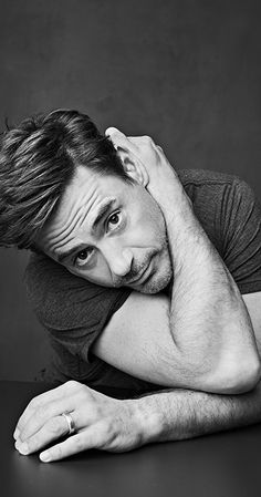 LA-based photographer Sam Jones is changing up the interview game, asking Hollywood stars questions that delve deeper into their personal histories and creative processes. Disneysea Tokyo, Robert Jr, Robert Downey Jr., Iron Man Tony Stark, Man Thing Marvel, Downey Junior, Marvel Actors, Tom Holland, Gorgeous Men