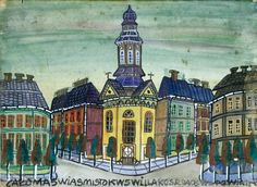 nikifor Outsider Art, Folk, Colours, Paintings, Beautiful, Drawings, Naive Art, Kunst, Popular