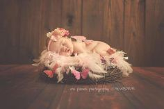 Inspiration For New Born Baby Photography : newborn butterfly