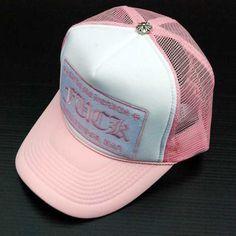 06172854c2652 Chrome Hearts Fuck Pink Mesh Trucker Cap Online Site Mesh Cap