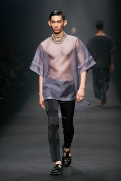Park Hyeong Seop for Resurrection by Juyoung S/S 2014 for Seoul Fashion Week