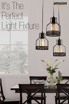 Light up your living space with unique hanging and stand-alone light fixtures, lamps and more.