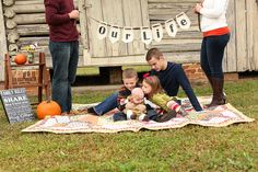 set up for fall family portraits | Jessica Smith Photography  i don't even know if i would use that, but i love it anyway! <3