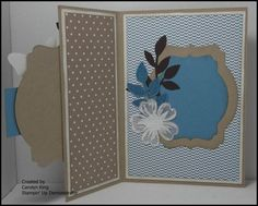 Carolyn King, Independent Stampin' Up! Scrapbook Cards, Scrapbooking, Butterfly Cards, Happy Birthday Cards, Folded Cards, Cool Cards, Stampin Up Cards, Making Ideas, Cardmaking