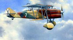 1938 Baleares, Fiat CR32 Chirri Aviazione Legionaria