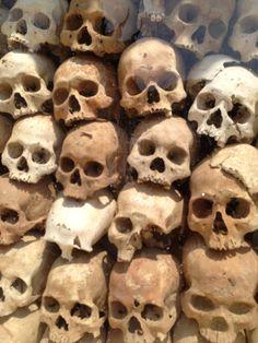 Cambodia killing fields remembrances