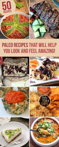 50 Paleo Weight Loss Recipes To Help You Look And Feel Amazing! 50 Paleo Weight Loss Recipes To Help Weight Loss Meals, Healthy Weight Loss, Weight Loss Drinks, Isagenix, Bariatric Recipes, Healthy Recipes, Locarb Recipes, Quick Recipes, Diabetic Recipes