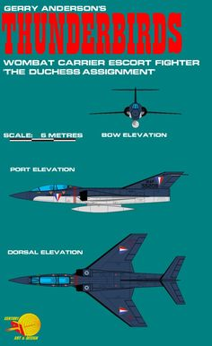 Gerry Andersons Thunderbirds Wombat Carrier Escort by ArthurTwosheds.deviantart.com on @DeviantArt