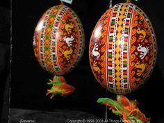 Ukrainian Easter Egg Pysanky 03-276  from the Lviv Region on AllThingsUkrainian.com