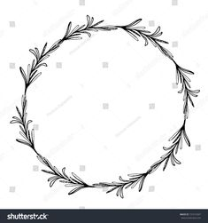 Find Sketch Wreath Rosemary Doodle Frame Hand stock images in HD and millions of other royalty-free stock photos, illustrations and vectors in the Shutterstock collection. Wreath Tattoo, Necklace Tattoo, Hand Tattoos, Tatoos, Border Tattoo, Doodle Frames, Wreath Drawing, Minimal Tattoo, Tattoo Drawings