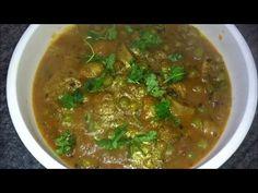 Mushroom Green Peas Curry   Dhingri Matar Recipe