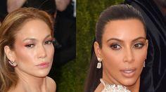Kim Kardashian & Jennifer Lopez compared their famous derrieres at the #MetGala: http://on.elle.com/1DQnGHj #fashionfactorywithDiva
