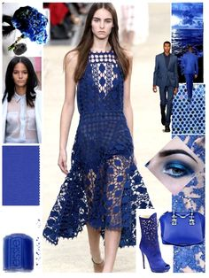 Clothing Color Trends Spring 2014 | Cobalt blue in spring 2014 fashion. Source: Stock Xchng