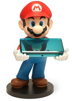 Mario 3DS Holder <-- i was gonna ask for one of these but they dont make them for the nintendo 3ds xl :(