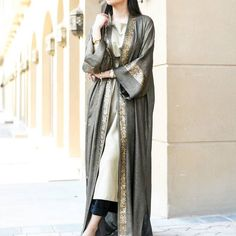 Elegant range of Abayas by @qabeela // Shop now at Haute-Elan.com  #modest#fashion#eid#ramadan#arab#ksa#gcc#london#trends#hauteelan