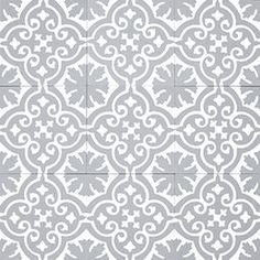 Moroccan cement tile - Sizes and how to order information can be found belowSize: - - details - Pattern code: 10200 - Colours: B, GL - Product code: of: - Cement, marble powder sekä inorganic pigmentsManufactured . Terrazzo Flooring, Kitchen Flooring, Tiled Hallway, Floor Texture, Kitchen Cabinets Decor, Tiles Online, Room Planning, Style Tile, Bathroom Interior Design