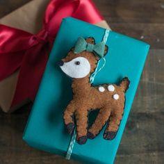 DIY Felt Deer Stuffie by Lia Griffith