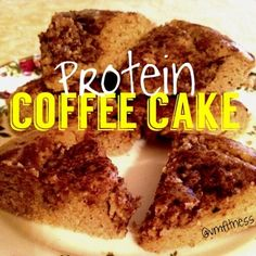 Ripped Recipes - Protein Coffee Cake - MMM Who doesn't love coffee cake?