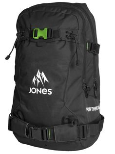 http://www.blue-tomato.com/fr-FR/product/Jones Snowboards-Further 24L Backpack-302254008-black green/