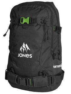 http://www.blue-tomato.com/fr-FR/product/Jones Snowboards-Further 24L Backpack-302254008-black green/