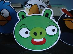 Display de mesa - Angry Birds Angry Birds, Yoshi, Character, Art, Personalized Stationery, Stickers, Mesas, Kunst, Lettering