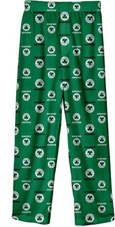 NBA Youth Boston Celtics Logo Pajama Pants, Size: Medium, Team