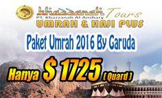 Hub : 0813 84181574 Paket umroh Desember 2016 Murah Harga $ 2000 Htl Bintang 5 by Garuda Izin resmi Depag Pengalaman sjk tahun 2001
