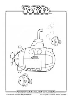tutitu coloring pages for kids - photo#3