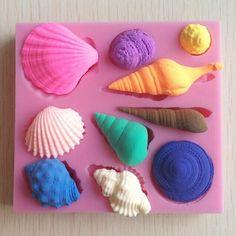 Seashell Cake Decorating Fondant Mold //Price: $6.81 & FREE Shipping //     #hashtag2