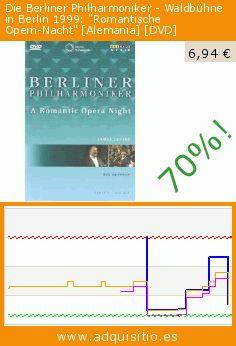 """Die Berliner Philharmoniker - Waldbühne in Berlin 1999: """"Romantische Opern-Nacht"""" [Alemania] [DVD] (DVD). Baja 70%! Precio actual 6,94 €, el precio anterior fue de 23,19 €. https://www.adquisitio.es/membran-international/waldbuhne-berlin-1999"""