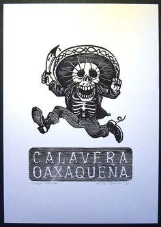 Calavera Oaxaqueña par TANXXX sur Etsy