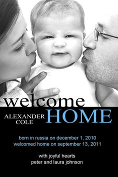 Welcome Home adoption announcement Foster Care Adoption, Foster To Adopt, Brother Poems, Adoption Party, Adoption Process, Welcome Home, Future Baby, Baby Love, The Fosters