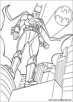 Free Printable Batman Coloring Pages For Kids Batman pictures